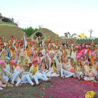 The Holi festival gave guests an immersive Indian experience