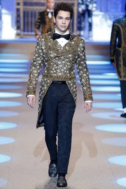Dolce   Gabbana Autumn Winter 2018 Menswear show report   British Vogue bc22eb0a699c