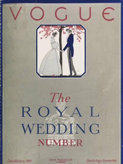 1922 Princess Mary and Viscount Lascells