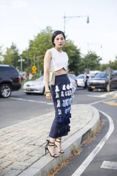 new york fashion week style british vogue