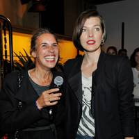 Isabel Marant and Milla Jovovich BBQ Party, LA - October 10 2013