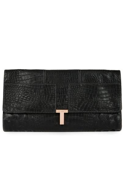 Black clutch, £129