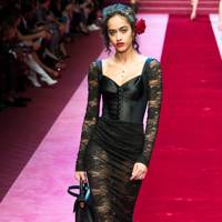 Sexy Goth: Dolce and Gabbana