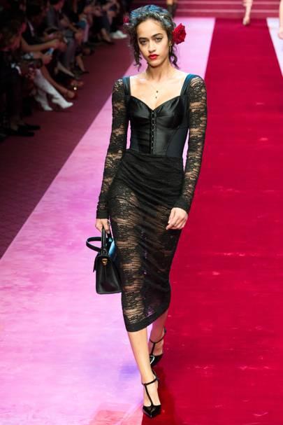 Sexy Goth: Dolce and Gabbana