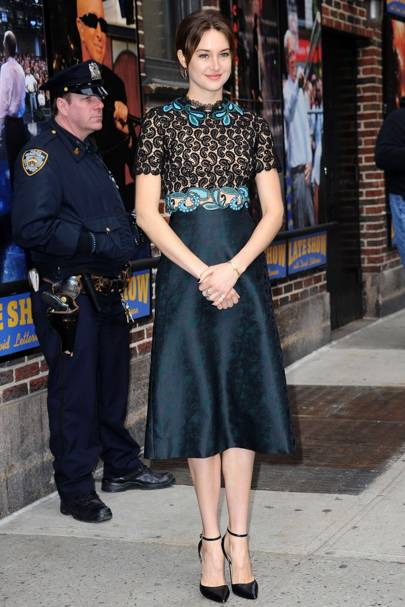 Late Show with David Letterman, New York - March 16 2015
