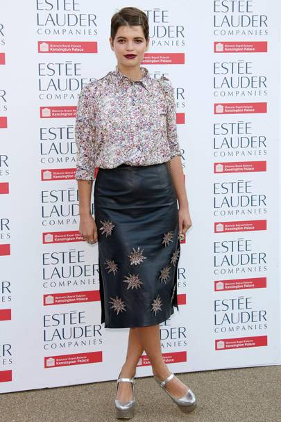 Estee Lauder Companies Fashion Rules Exhibition Launch Party