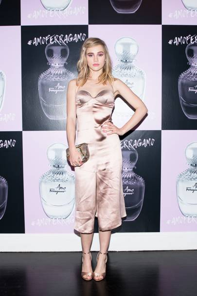 Amo Ferragamo hosted by Suki Waterhouse, New York – February 6 2018