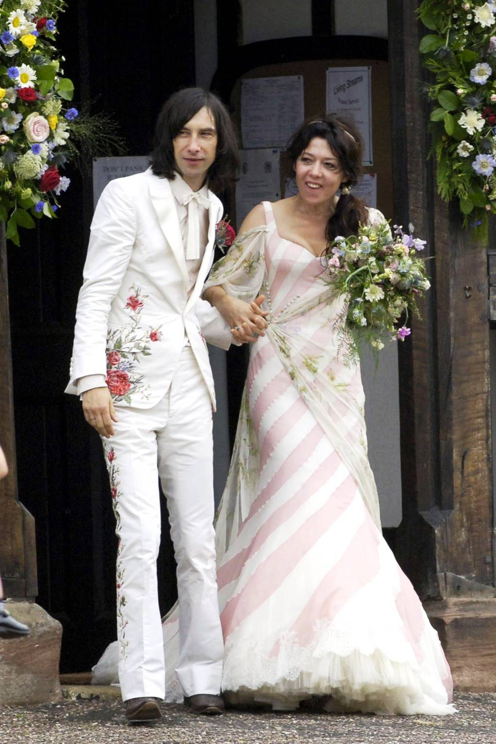 Colourful Wedding Dresses - Celebrity Brides And Bridal Gowns ...