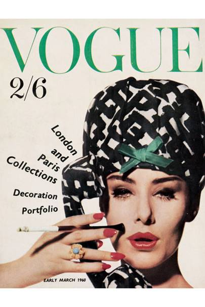 Vogue Cover, March 1960