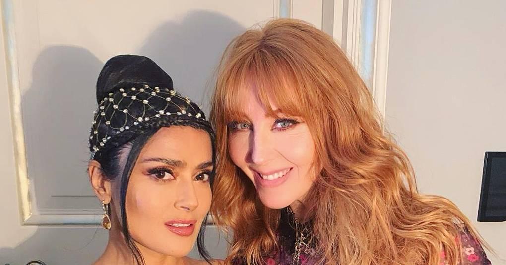 Charlotte Tilbury And Salma Hayek Make The Cutest BAFTA Beauty Duo