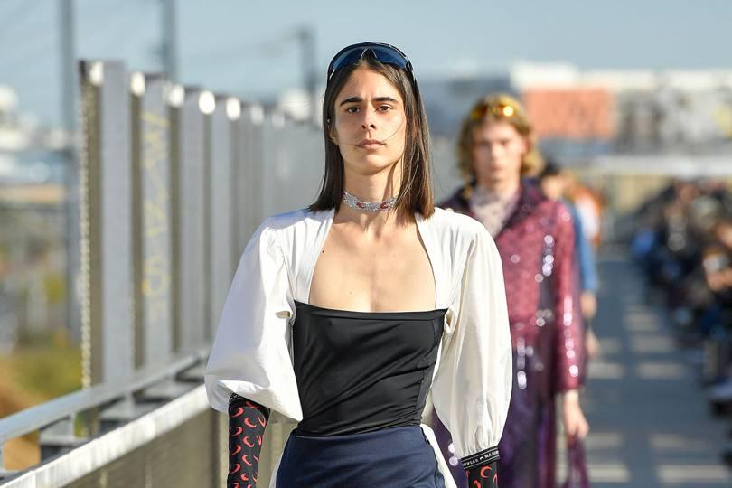 2b922172 Marine Serre Spring/Summer 2019 Ready-To-Wear show report | British Vogue
