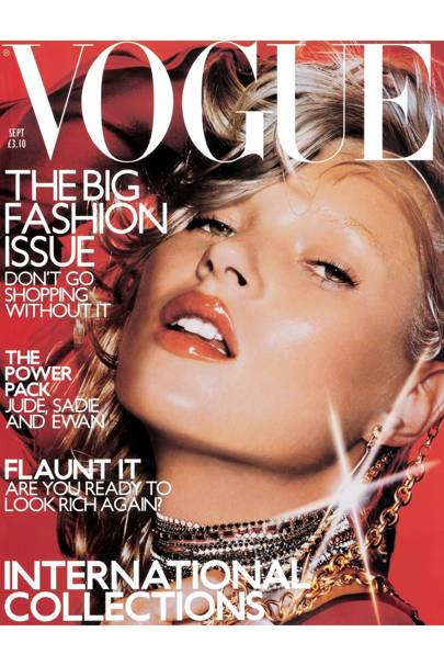 Vogue cover, September 2000
