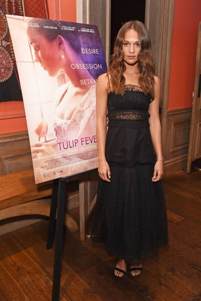 'Tulip Fever' Screening, London – August 13 2017