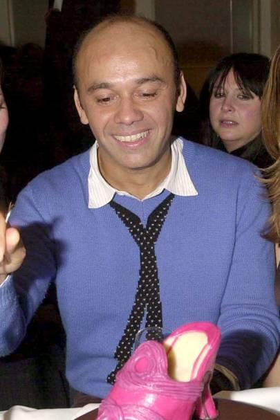 Christian Louboutin, shoe designer