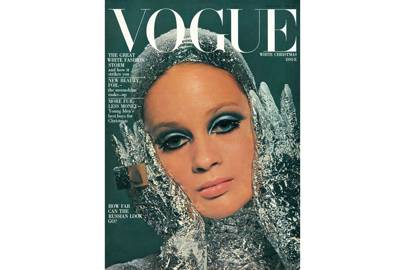 Celia Hammond, Vogue December 1966, by David Bailey