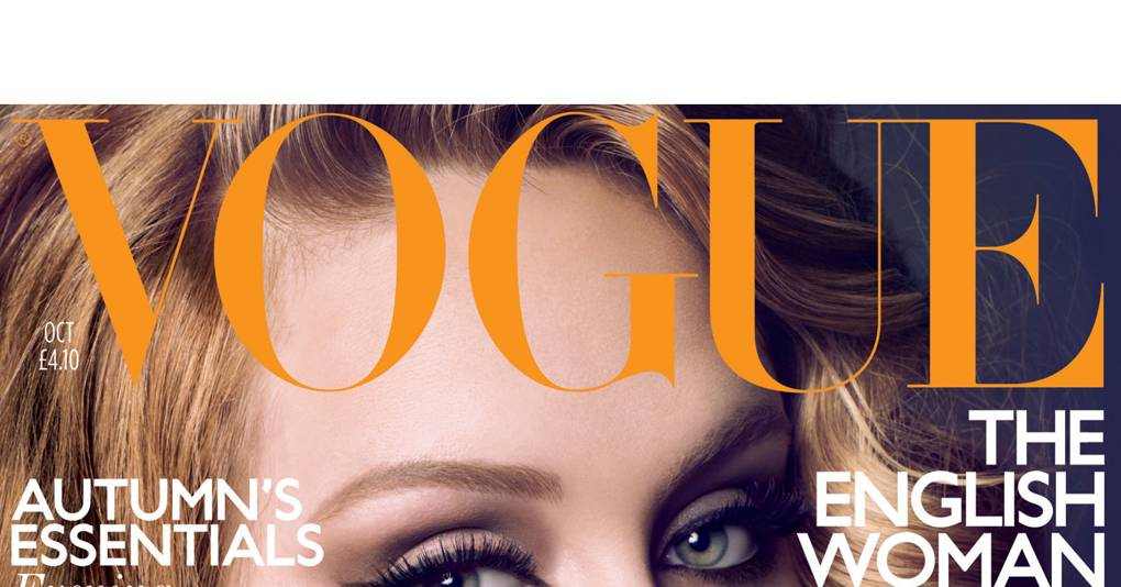 dc548b9bdd3 Adele Vogue Cover - October issue of Vogue | British Vogue