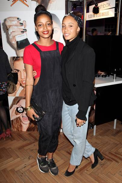 Kesewa and Adwoa Aboah