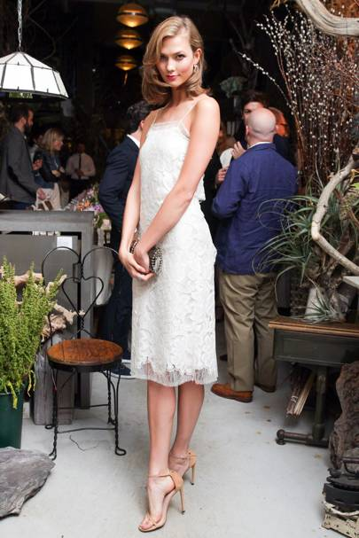 Karlie Kloss and Warby Parker collaboration launch dinner, New York - June 9 2014