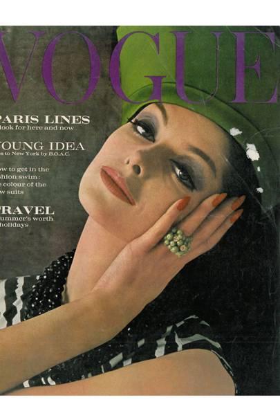 Vogue Cover, April 1962
