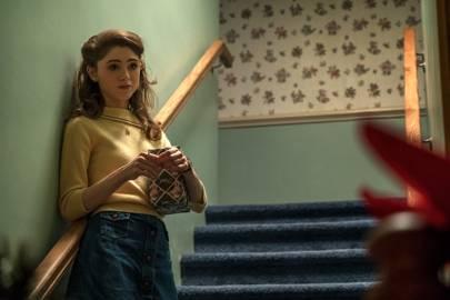 Nancy's mustard knit