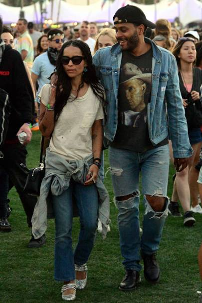 Zoe Kravitz & Twin Shadow