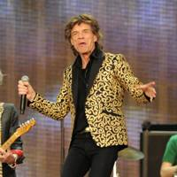 Jagger's Gustav Klimt-inspired jacket, worn during his Hyde Park show