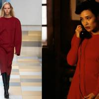 The scarlet day dress (according to Jocelyn Packard)