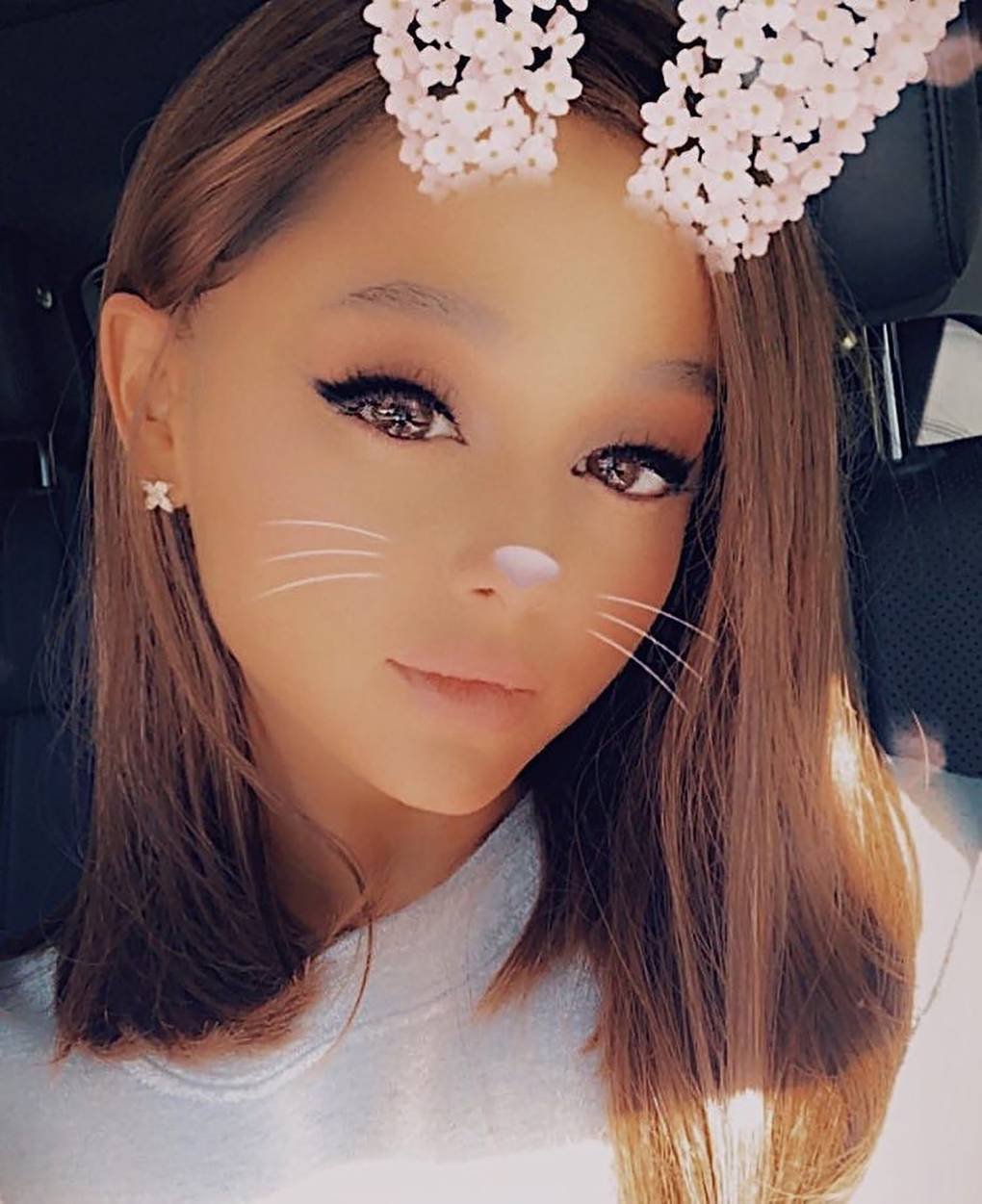 Ariana Grandes Post Break Up Hair Cut Is A Haute Chop Fit For The