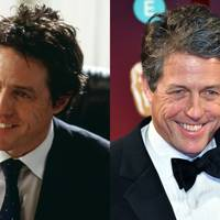 Hugh Grant as the prime minister.