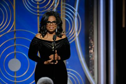 Oprah's speech to end all other speeches