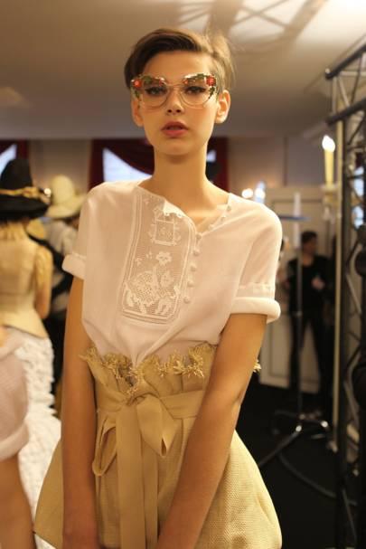Ulyana Sergeenko Spring/Summer 2013 Couture