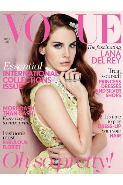 Vogue cover, March 2012