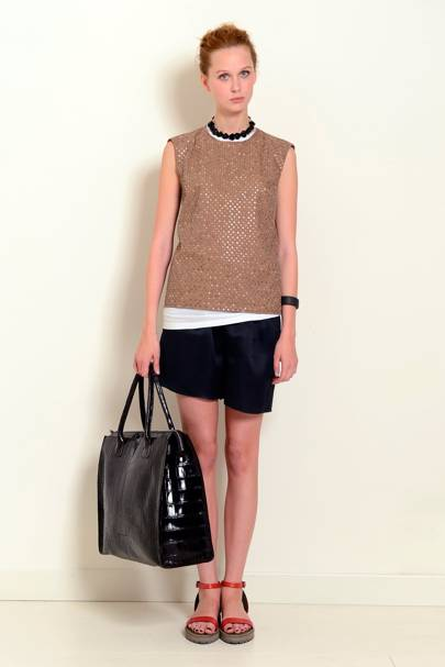 dce0861a052e Brunello Cucinelli Spring Summer 2014 Ready-To-Wear show report ...