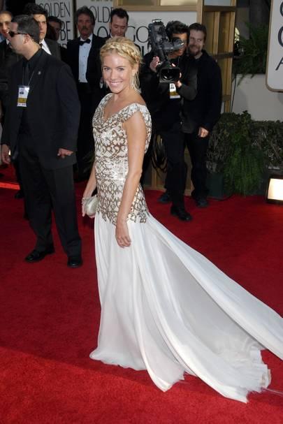 Sienna Miller at the 2007 Golden Globes