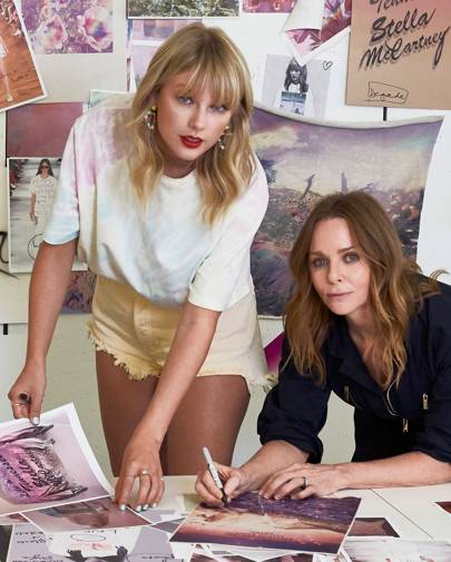 Taylor Swift Teams Up With Stella McCartney On Lover Merch