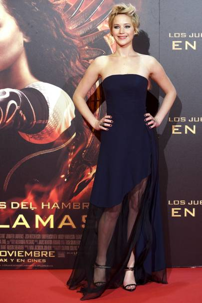 The Hunger Games: Catching Fire premiere, Madrid - November 13 2013