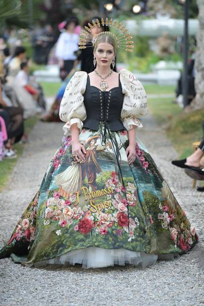84eec5d1cad6 Dolce & Gabbana - Alta Moda Autumn/Winter 2018 Couture show report ...