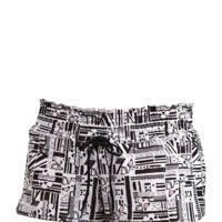 Drawstring shorts, £50