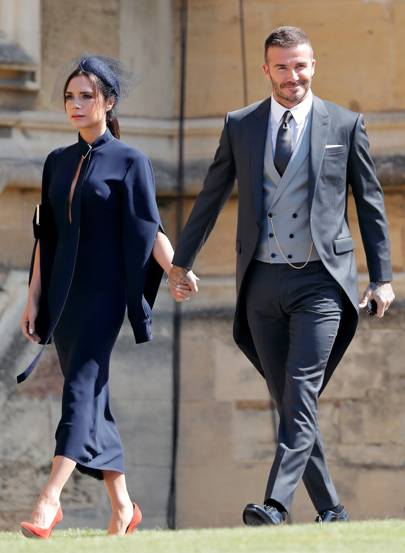 The Dress Victoria Beckham Wore To Royal Wedding Is Now Online