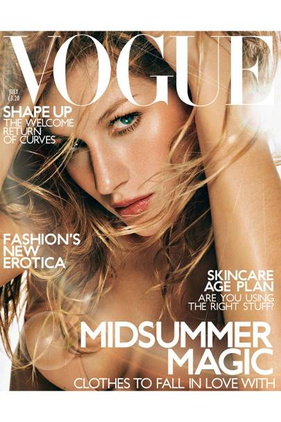 Vogue Cover, July 2001