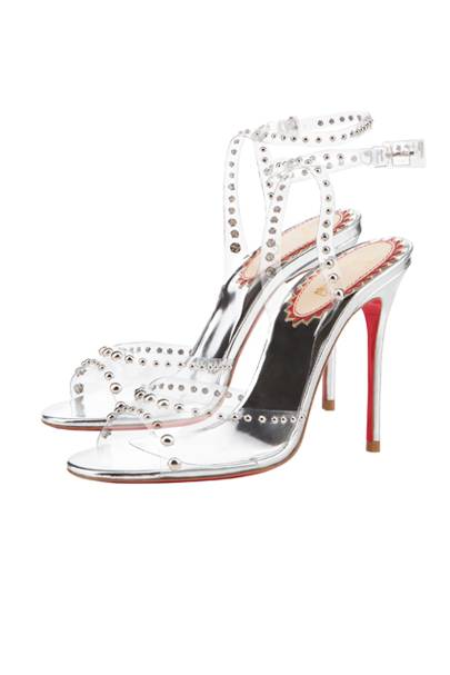 ecf185647508 Christian Louboutin Reinterprets The Glass Slipper