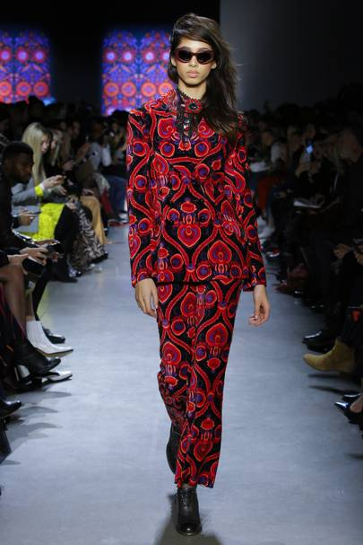 3a060df8353 Anna Sui Autumn Winter 2018 Ready-To-Wear show report