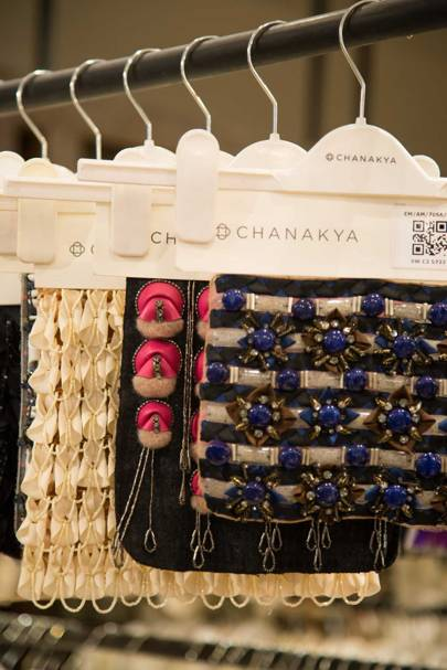 Embroidery samples by Chanakya