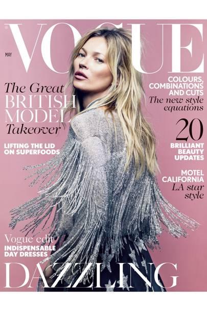British Vogue, May 2014