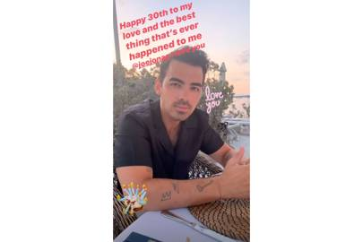 Sophie Turner Found The Best Way To Surprise Joe Jonas On His 30th Birthday