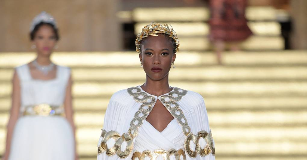 200296178ca19d Dolce & Gabbana - Alta Moda Autumn/Winter 2019 Couture show report |  British Vogue