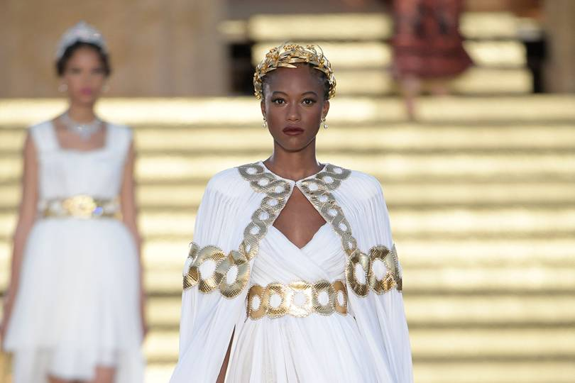 Dolce Gabbana Alta Moda Autumn Winter 2019 Couture Show Report British Vogue