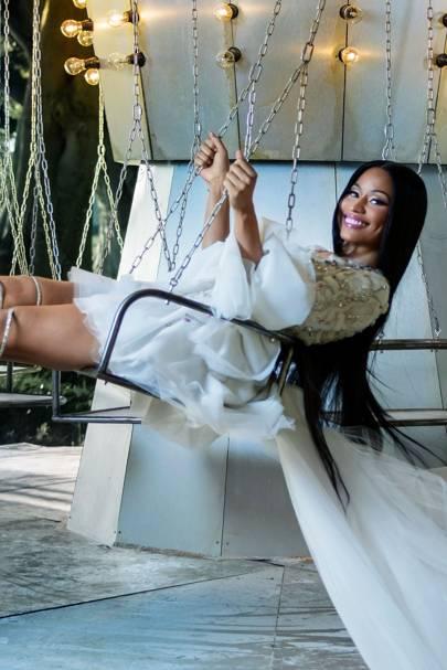 38c99a219eba Party Dressing Tips Nicki Minaj | British Vogue