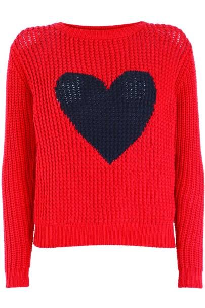 Heart jumper, £60