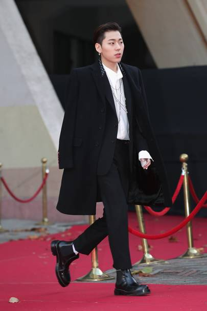 When Block B's Zico takes to the red carpet